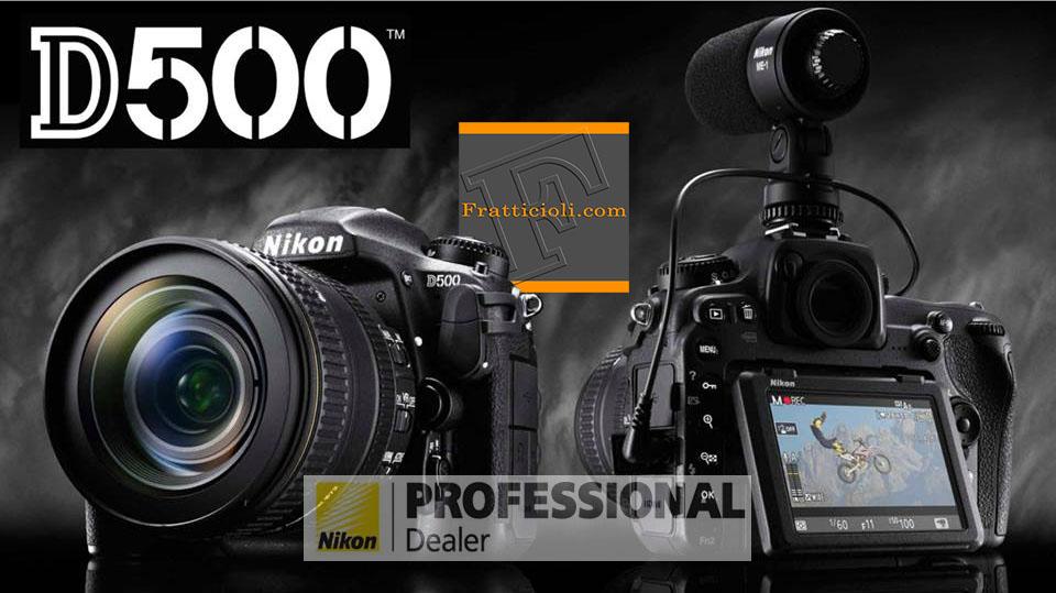 Nikon D500 Perugia da Foto Fratticioli
